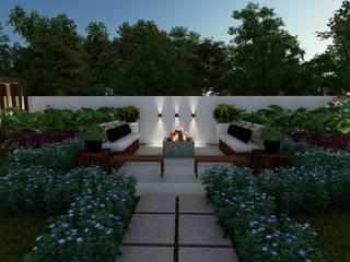 Projeto de Paisagismo Residência DT por Dimensione Arquitetura Moderno