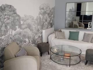 Salon: Salon de style  par Vanessa Avel créatrice d'intérieurs