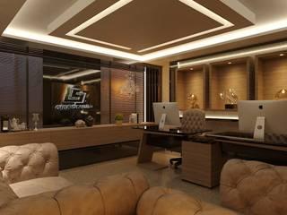 Salas Comerciais Ed. Denasa Espaços comerciais modernos por Dimensione Arquitetura Moderno
