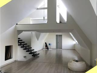Arquitetura de Interiores Residência WE por Dimensione Arquitetura Moderno