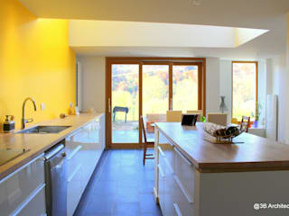 Villa LT: Cuisine de style de style Moderne par 3B Architecture