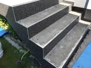 Steinteppich Schritt für Schritt auf Betontreppen verlegen:   von Steinteppich Verlegen