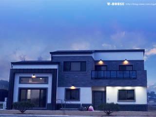 익산 임상리 50평형 ALC주택 by W-HOUSE 모던