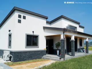서천 8호 35평형 ALC전원주택 by W-HOUSE 모던