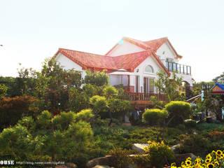 서천3호 35평형 친환경ALC전원주택 by W-HOUSE 지중해