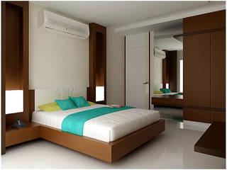 INTERIOR:  Bedroom by RAJESH GAJJAR arch.int dsr