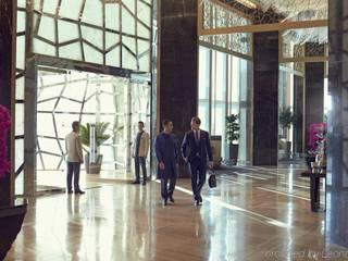 LAMINA STONE Modern Koridor, Hol & Merdivenler lamina stone Modern