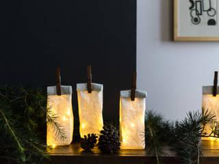Sac de Lumière en papier Kraft Lavable:  de style  par Ekaterina Galera