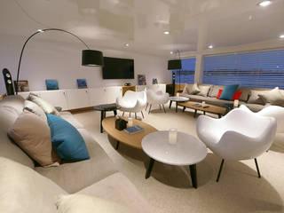 Modern yachts & jets by oshi pracownia projektowa Modern