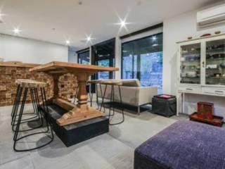 Weekend home:  Living room by workroom