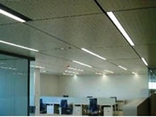 Akustik fibercement Minimalist Çalışma Odası SARGRUP İNŞAAT VE ENERJİ LTD.ŞTİ. Minimalist