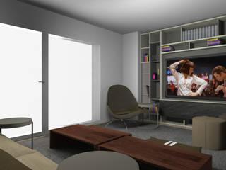 Interior design per villetta di tre livelli:  in stile  di CLM Arredamento