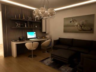 Projekty,   zaprojektowane przez HEBART MİMARLIK DEKORASYON HZMT.LTD.ŞTİ.