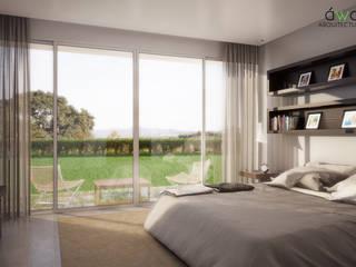 CASA VS | INTERIORES | SUITE Dormitorios clásicos de áwaras arquitectos Clásico