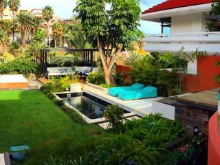 Vista jardín:  de estilo  de Jardineros de interior