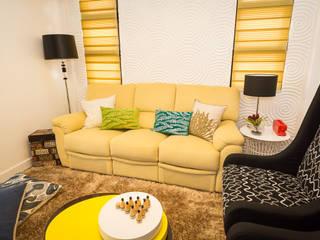 Tagaytay Southridge Estates: modern Living room by TG Designing Corner