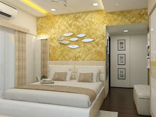 Modern style bedroom by shree lalitha consultants Modern Plywood