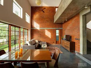 ห้องนั่งเล่น by Studio Nirvana