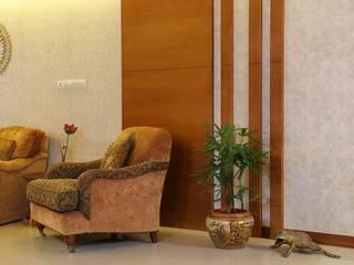 Marine Drive:  Living room by Studio Nirvana