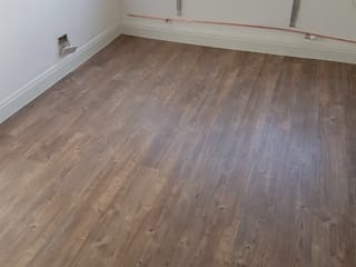 Amtico Flooring Installation In Finchley:  Bedroom by The Flooring Group