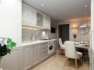 Light classic kitchen: Кухни в . Автор – Solo Design Studio