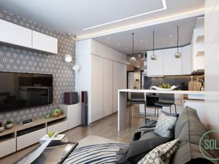 Dapur Gaya Skandinavia Oleh Solo Design Studio Skandinavia
