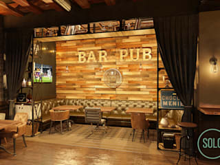 Bars & Clubs von Solo Design Studio, Industrial