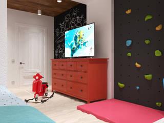 Детская для мальчишек Детская комнатa в скандинавском стиле от Дизайн интерьеров Скандинавский
