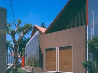 Maisons modernes par sony architect studio Moderne