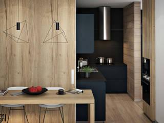 Однушка г.Домодедово: Кухни в . Автор – Y.F.architects,