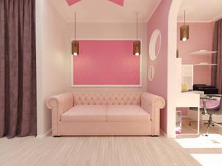 Комната молодой девушки Детские комната в эклектичном стиле от Дизайн интерьеров Эклектичный