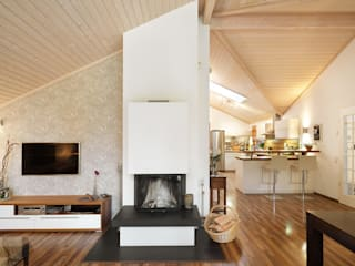 Oliver Kuty Photography Living roomFireplaces & accessories