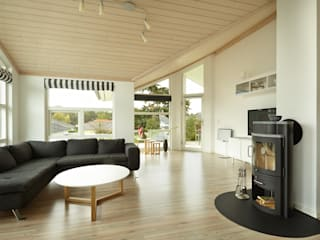 Living room by Oliver Kuty Photography, Scandinavian