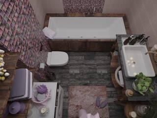 Вкус терпкого вина: Ванные комнаты в . Автор – ХаТа - design