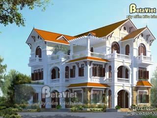Casas modernas: Ideas, imágenes y decoración de Công Ty CP Kiến Trúc và Xây Dựng Betaviet Moderno