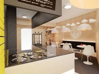 20 m² w Opolu: styl , w kategorii Schody zaprojektowany przez Piec Piąty