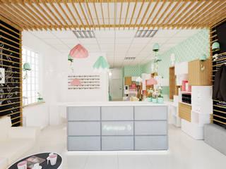69 m² w Skierniewicach: styl , w kategorii Schody zaprojektowany przez Piec Piąty