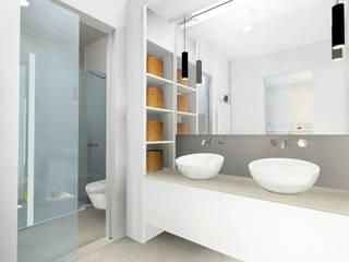 Apartamento de Verano en Aguadulce Almería:  de estilo  de CARMAN Interiorismo Murcia