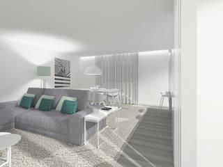 Apartamento ST:   por GOA Arquitectos