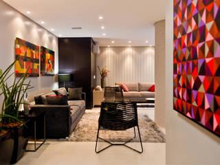 Áreas de Lazer - Edifício Nantai Salas de estar modernas por SZ ARQUITETURA Moderno