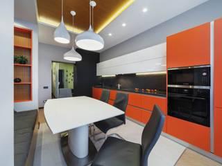 Cozinhas modernas por Дизайн Студия 33 Moderno