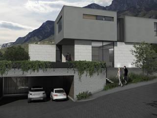 Casa AA Casas modernas de VOA Arquitectos Moderno
