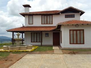 Casa Campestre de Arcor Constructores Colonial Concreto