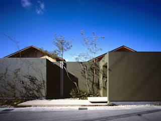 長岡京の家Ⅱ: 吉川弥志設計工房が手掛けた木造住宅です。