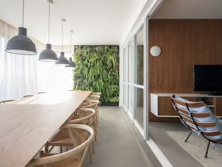 Ruang Makan Minimalis Oleh GDL Arquitetura Minimalis