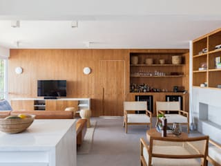 Living room by GDL Arquitetura, Minimalist