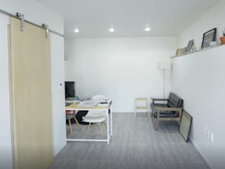 Salas de estilo moderno de GongGam Urban Architecture & Construction Moderno