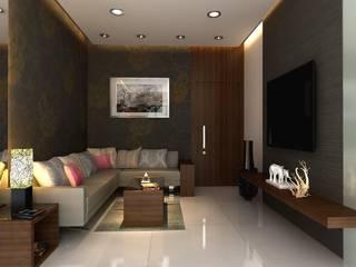 1 BHK Flats in Mumbai:  Single family home by Mayfair Housing