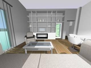 Ristrutturazione appartamento signorile - Genova - Sala da pranzo moderna di Studio Messina Moderno