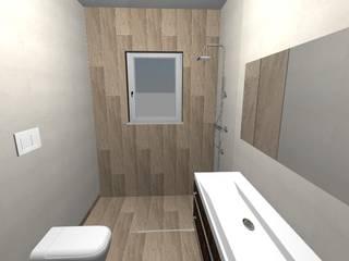 Ristrutturazione attico - Milano - Bagno moderno di Studio Messina Moderno